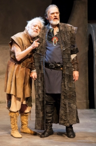 The Fool (Bobby Miller) and King Lear (John Contini), photo by John Lamb
