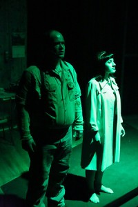 Zachary Allen Farmer and Marcy Wiegert Photo by Jill Ritter Lindberg New Line Theatre
