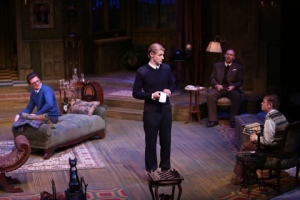 William Connell, Christian Pedersen, Michael James Reed, Sean Mellott Photo by Larry Naunheim, Jr. Repertory Theatre of St. Louis