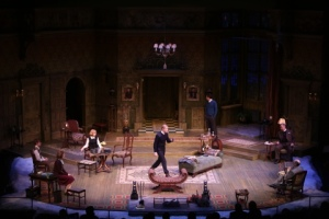 Cast of The Mousetrap Photo by Jerry Naunheim, Jr.  Repertory Theatre of St. Louis