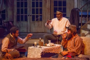Gregory Fenner, J. Samuel Davis, Austin Pierce Photo by John Lamb New Jewish Theatre