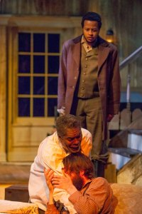 J. Samuel Davis, Austin Pierce and Gregory Fenner Photo by John Lamb New Jewish Theatre
