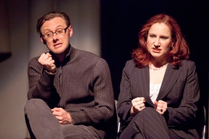 Bradley J. Behrmann, Sarajane Alverson Photo by John Lamb Stray Dog Theatre