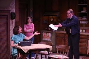Nancy Bell, Emma Wisniewski, Vincent Tenninty Photo by Jerry Naunheim, Jr. Repertory Theatre of St. Louis