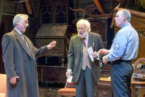 Jerry Vogel, Bobby Miller, Michael James Reed Photo by John Lamb New Jewish Theatre