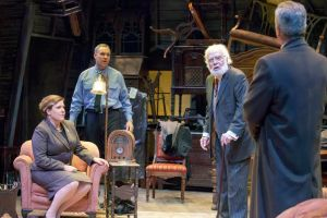 Kelley Weber, Michael James reed, Bobby Miller, Jerry Vogel Photo by John Lamb New Jewish Theatre