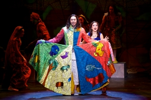 Ace Young, Diana DeGarmo Photo by Daniel A. Swalec Joseph... National Tour