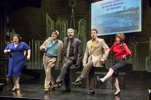 Johanna Elkanah-Hale, Bobby Miller, Craig Neumann, Dave Cooperstein, Stellie Siteman Photo by John Lamb New Jewish Theatre
