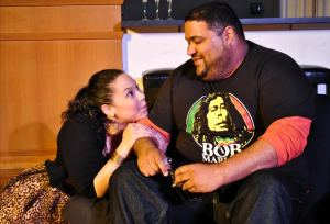 Wendy Renee Greenwood, Carl Overly, Jr. Photo by Joey Rumpell Slightly Askew Theatre Ensemble