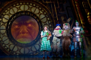 Danielle Wade, Jamie McKnight, Lee MacDougall, Mike Jackson Photo by Cylla Von Tiedemann Wizard of Oz Tour