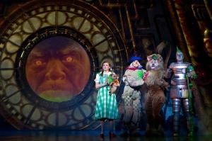 Danielle Wade, Jamie McKnight, Lee MacDougall, Mike Jackson Photo by Cylla Von Tiedemann Wizard of Oz Tour