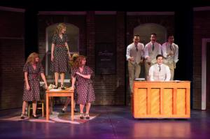 Cast of They're Playing Our Song Photo by Peter Wochniak STAGES St. Louis