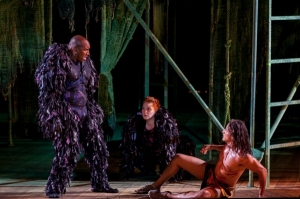 Quentin Earl Darrington, Katie Thompson, Nicholas  Rodriguez Photo: The Muny