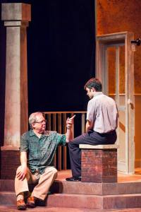 Tom Murray, Matt Pentecost Photo by John Lamb Insight Theatre Company