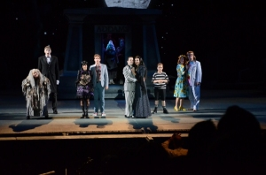 Cast of The Addams Family Photo by Philip Hamer The Muny