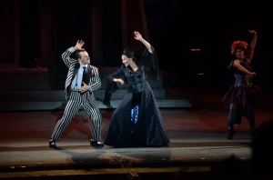 Rob McClure, Jenny Powers Photo by Philip Hamer The Muny