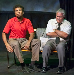 Reginald Pierre, William Roth Photo by John Lamb St. Louis Actors' Studio