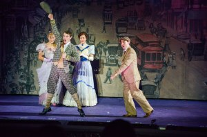 Eloise Kropp, Jay Armstrong Johnson, Mamie Parris, Rob McClure Photo by Phillip Hamer The Muny