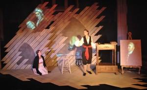 Rachel Tibbetts, Ellie Schwetye Photo by Joey Rumpell Slightly Askew Theatre Ensemble