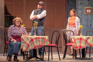 Janet Wells, Troy Turnipseed, Jenni Ryan Photo by John Lamb Insight Theatre Company