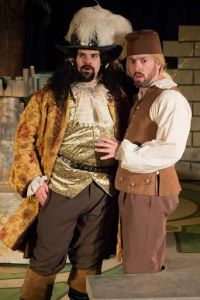 Jared Sanz-Agero, Ben Ritchie Photo by Kim Carlson St. Louis Shakespeare