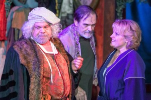 Greg Johnston, John Contini, Kim Furlow Photo by John Lamb Dramatic License Productions