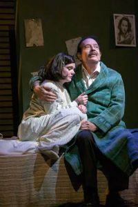 Samantha Moyer, Bobby Miller Photo by John Lamb New Jewish Theatre