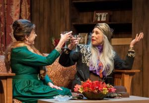 Andra Harkins, Nancy Lewis Photo by John Lamb St. Louis Actors' Studio