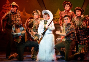 Colton Maurer and Cast Photo: A Christmas Story National Tour