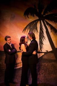 Ben Nordstrom, Maggie Conroy, Tyler Vickers Photo HotCity Theatre