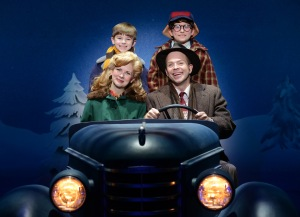 Susannah Jones, Christopher Swan, Cal Alexander, Colton Maurer Photo: A Christmas Story National Tour