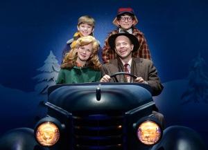 Susannah Jones, Christopher Swan, Cal Alexander, Colton Maurer Photo: A Christmas Story National Tour