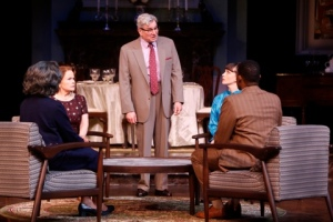 Anderson Matthews (center) and cast Photo by Jerry Naunheim, Jr. Repertory Theatre of St. Louis