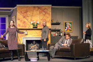 Sarajane Alverson, Michael Juncal, Stephen Peirick, MIchelle Hand Photo by John Lamb Stray Dog Theatre