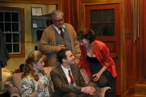 Betsy Bowman, William Roth, Michael Amoroso, Kari Ely Photo by John Lamb St. Louis Actors' Studio