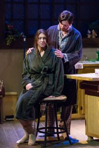 Emily Baker, David Wassilak Photo by Eric Woolsey New Jewish Theatre