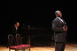 Charles Creath, Dr. Robert McNichols, Jr. Photo by Stewart Goldstein The Black Rep