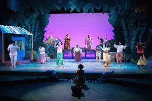The Cast of Once on This Island Photo by Stewart Goldstein The Black Rep