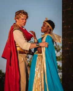 Jay Stratton, Shirine Babb Photo by J. David Levy Shakespeare Festival St. Louis