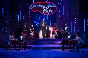 Cast of Smokey Joe's Cafe Photo by Peter Wochniak STAGES St. Louis