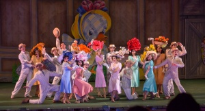 Holiday Inn ensemble Photo by Phillip Hamer The Muny