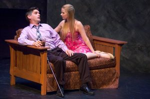 Nathan Bush, Alicia Smith Photo by John Lamb St. Louis Actors' Studio