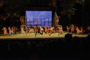Cast of Oklahoma! Photo: The Muny