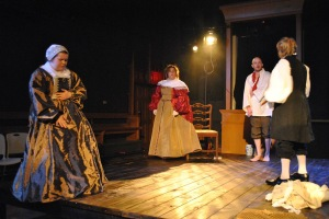 Hannah Ryan, Kelley Weber, Charlie Barron, Joe Hanrahan Photo by Joey Rumpell Slightly Askew Theatre Ensemble