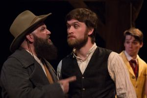 John Foughty, Erik Kuhn, Michael Pierce Photo by Kim Carlson St. Louis Shakespeare