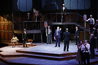 Cast of All the Way Photo by Jerry Naunheim, Jr. Repertory Theatre of St. Louis