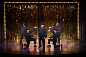 Cast of The Full Monty Photo by Peter Wochniak STAGES St. Louis