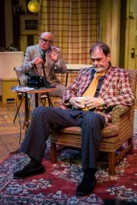 Peter Mayer, John Contini Photo by Eric Woolsey New Jewish Theatre