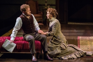 Clark Scott Carmichael, Janie Brookshire Photo by Eric Woolsey Repertory Theatre of St. Louis