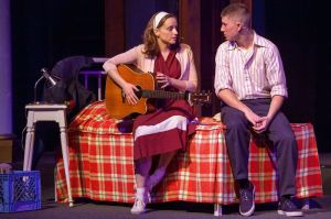 Shannon Cothran, Brendan Ochs Photo by John Lamb Stray Dog Theatre